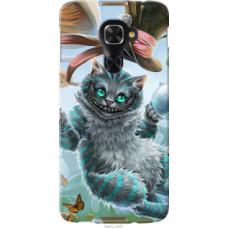 Чехол на Alcatel Idol 4 Pro Чеширский кот 2 (3993u-1537)