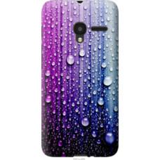 Чехол на Alcatel One Touch Pixi 3 4.5 Капли воды (3351u-408)