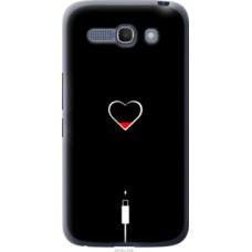 Чехол на Alcatel One Touch POP C9 Подзарядка сердца (4274u-319)