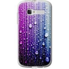 Чехол на Alcatel One Touch Pop C5 5036D Капли воды (3351u-324)