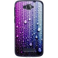 Чехол на Alcatel One Touch Pop C7 7041D Капли воды (3351u-267)