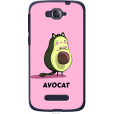 Чехол на Alcatel One Touch Pop C7 7041D Avocat (4270u-267)