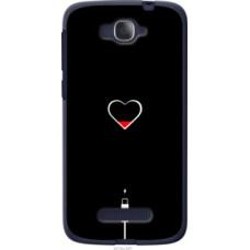 Чехол на Alcatel One Touch Pop C7 7041D Подзарядка сердца (4274u-267)