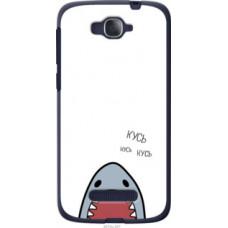 Чехол на Alcatel One Touch Pop C7 7041D Акула (4870u-267)