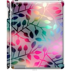 Чехол на Apple iPad 2/3/4 Листья (2235c-25)