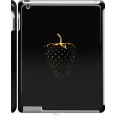 Чехол на Apple iPad 2/3/4 Черная клубника (3585c-25)