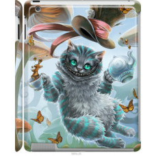 Чехол на Apple iPad 2/3/4 Чеширский кот 2 (3993c-25)