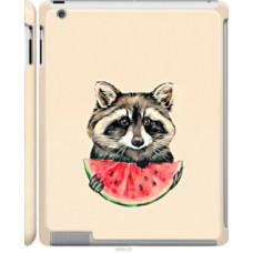 Чехол на Apple iPad 2/3/4 Енотик с арбузом (4605c-25)
