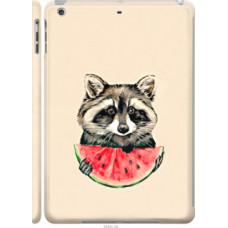 Чехол на Apple iPad 5 (Air) Енотик с арбузом (4605c-26)