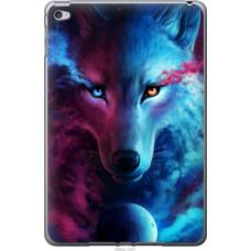 Чехол на Apple iPad mini 4 Арт-волк (3999u-1247)