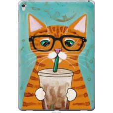 Чехол на Apple iPad Pro 12.9 Зеленоглазый кот в очках (4054u-362)