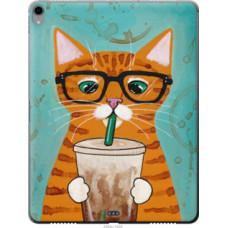 Чехол на Apple iPad Pro 12.9 (2018) Зеленоглазый кот в очках (4054u-1625)