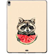 Чехол на Apple iPad Pro 12.9 (2018) Енотик с арбузом (4605u-1625)