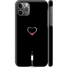 Чехол на Apple iPhone 11 Pro Max Подзарядка сердца (4274c-1723)