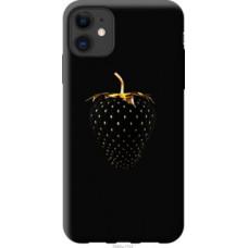 Чехол на Apple iPhone 11 Черная клубника (3585u-1722)