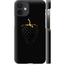 Чехол на Apple iPhone 12 Mini Черная клубника (3585c-2071)