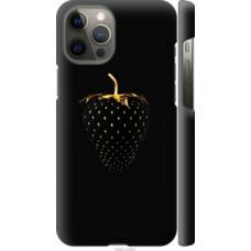Чехол на Apple iPhone 12 Pro Max Черная клубника (3585c-2054)