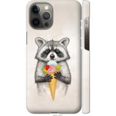 Чехол на Apple iPhone 12 Pro Max Енотик с мороженым (4602c-2054)
