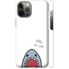 Чехол на Apple iPhone 12 Pro Max Акула (4870c-2054)