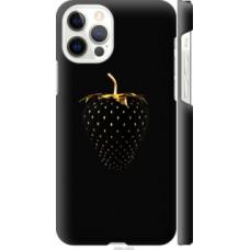 Чехол на Apple iPhone 12 Pro Черная клубника (3585c-2052)
