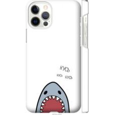 Чехол на Apple iPhone 12 Pro Акула (4870c-2052)