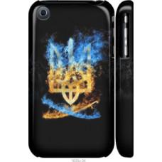 Чехол на iPhone 3Gs Герб (1635c-34)