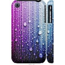 Чехол на iPhone 3Gs Капли воды (3351c-34)