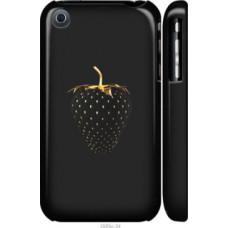 Чехол на iPhone 3Gs Черная клубника (3585c-34)