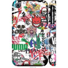 Чехол на iPhone 3Gs Many different logos (4022c-34)