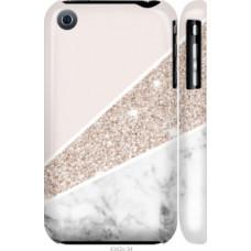 Чехол на iPhone 3Gs Пастельный мрамор (4342c-34)