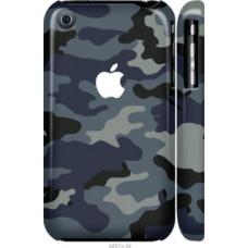 Чехол на iPhone 3Gs Камуфляж 1 (4897c-34)