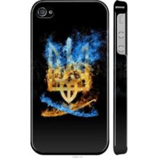 Чехол на iPhone 4 Герб (1635c-15)