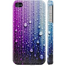 Чехол на iPhone 4 Капли воды (3351c-15)
