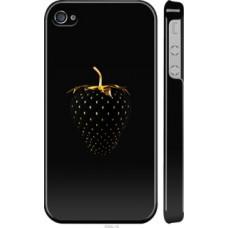 Чехол на iPhone 4 Черная клубника (3585c-15)