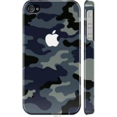 Чехол на iPhone 4 Камуфляж 1 (4897c-15)