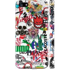 Чехол на iPhone 5s Many different logos (4022c-21)