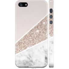 Чехол на iPhone 5s Пастельный мрамор (4342c-21)