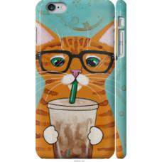Чехол на Apple iPhone 6 Plus Зеленоглазый кот в очках (4054c-48)