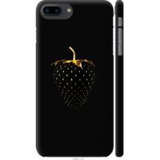 Чехол на iPhone 8 Plus Черная клубника (3585c-1032)