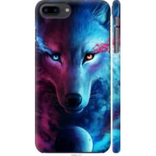 Чехол на iPhone 8 Plus Арт-волк (3999c-1032)