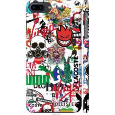 Чехол на iPhone 8 Plus Many different logos (4022c-1032)