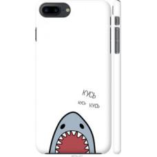 Чехол на iPhone 8 Plus Акула (4870c-1032)