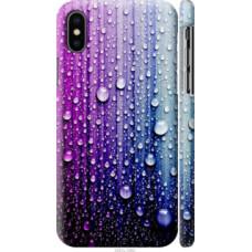 Чехол на Apple iPhone X Капли воды (3351c-1050)