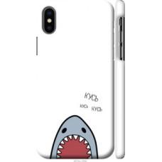 Чехол на Apple iPhone X Акула (4870c-1050)