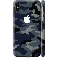 Чехол на Apple iPhone X Камуфляж 1 (4897c-1050)