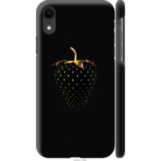 Чехол на Apple iPhone XR Черная клубника (3585c-1560)