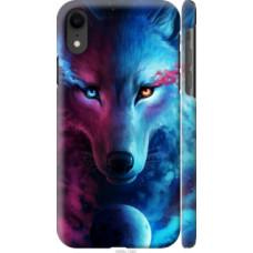 Чехол на Apple iPhone XR Арт-волк (3999c-1560)