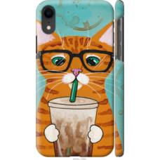 Чехол на Apple iPhone XR Зеленоглазый кот в очках (4054c-1560)