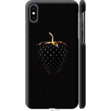 Чехол на Apple iPhone XS Max Черная клубника (3585c-1557)