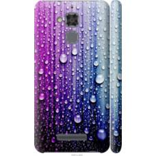 Чехол на Asus Zenfone 3 Max ZC520TL Капли воды (3351c-442)